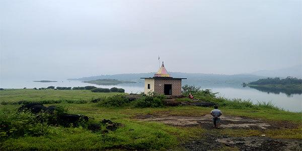 Temple near morbe dam