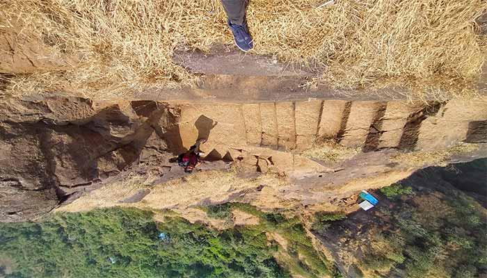 Kalavantin fort steps