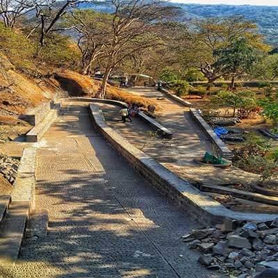 Kanheri caves steps