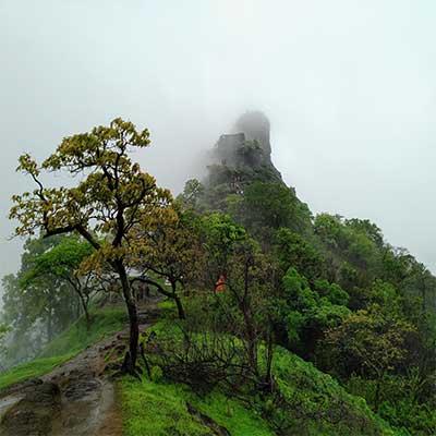 Karnala Fort view