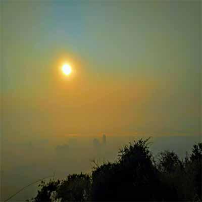 Kharghar-hills sunrise