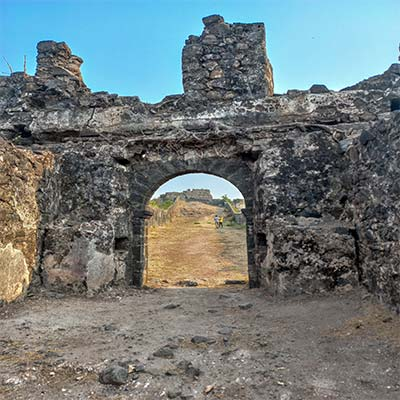 Korlai fort entrance
