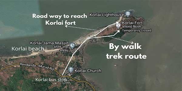Korlai fort location