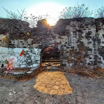 Korlai fort temple