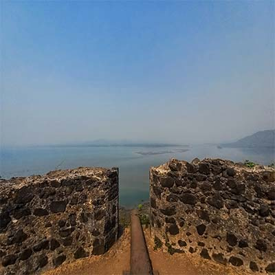 Korlai fort tope picture