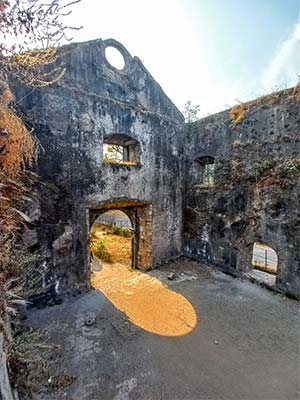 Vasai fort structure pic