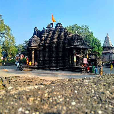 Ambernath-Shiv-temple picture from top