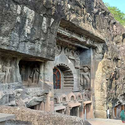 ajanta-cave-structure