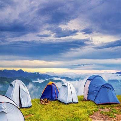 tent at mountain